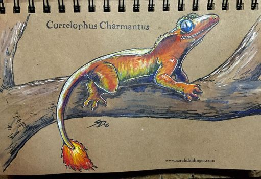 Correlophus Charmantus by Waterbear