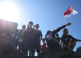 flags our indonesiaa by cumii