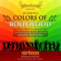 colors of bollywood flyer by nishantrana
