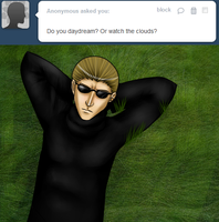 Ask Wesker 14 by MintMongoose