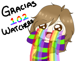 102 Watchers :'D by GabyDash
