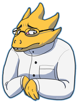 Alphys by FrOoTcAkE