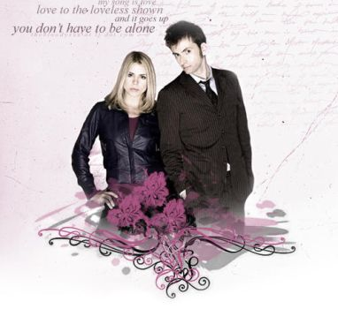 The Doctor and Rose by thebloodyxxx