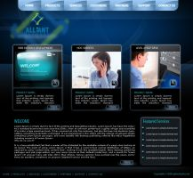 Alliant Infosys template 03 by drmaxmad