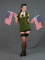 USO pinup 18 by MajesticStock
