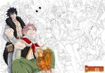 Fairy Tail Team  detail by Csontra