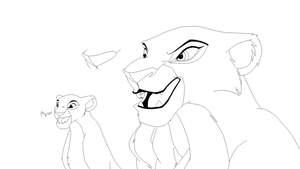 The Lion King Base 10 by CandyNtheSweetettez