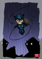 catwoman by roelworks