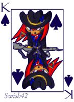 Knuckles: King of Spades by Swish42