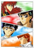 Yu Yu Hakusho Forever by Sano by Sano-BR