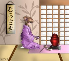 Tea Ceremony by lilpurpleperson