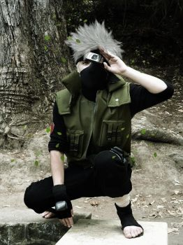 Kakashi Cosplay by G-cosplayer