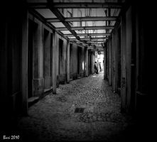 At the end of the street by Buri65