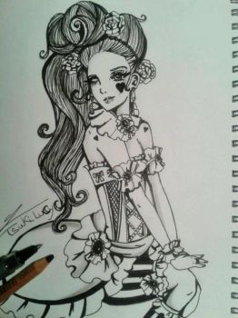 Victorian Girl by TsukiLucy