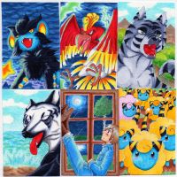 ACEO randomness by jawazcript