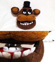 Freddy Fazbear's Head by BarelyCreative
