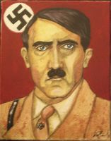 Adolf Hitler by depplosion