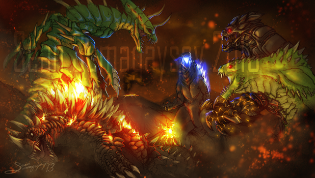 *COMMISSION* Judgement Day by SeanSumagaysay