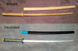 Saionji's Katana from Utena Movie by volko-dav