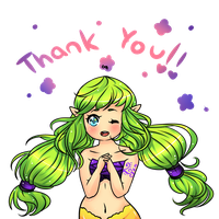 Thank you, Middy! by StarGamer01