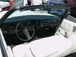 1975 Chevrolet Caprice Classic Convertible dash by RoadTripDog