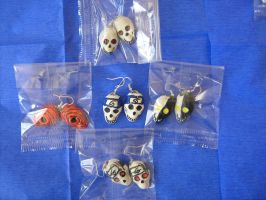 naruto skull earrings set 2 by chaos-dark-lord
