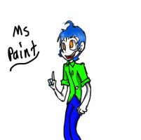 Human MS Paint by HystericalShibe