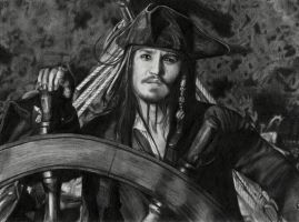 jack sparrow by paradokusu