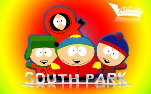 South Park - 1280x800 by faffelkugel