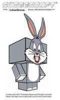Cubeecraft - Bugs Bunny by CyberDrone