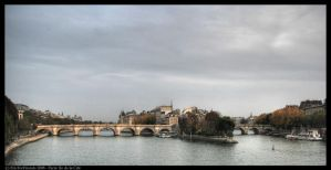 Paris Ile de la Cite by EricForFriends