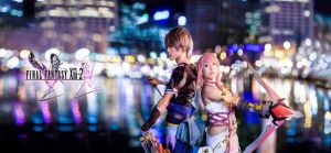 Final Fantasy XIII-2: Serah and Noel by CMOSsPhotography
