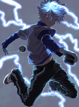 Killua by skullcaps