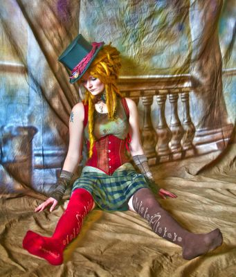 HDR puppet girl by salvadornl