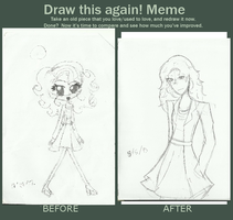 Draw this again! meme by roppiepop