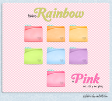 Folders Rainbow #2 by sistaerii