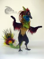Canid Avian Room Guardian by AnyaBoz