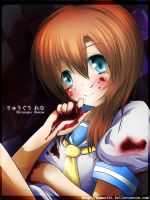 Higurashi: Blood stained hands by Kamaniki