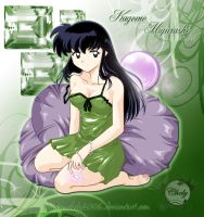 Kagome with the pearl by Chely2006
