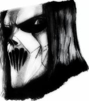 Slipknot - Mick thompson, drawing by deathlouis