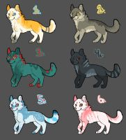 Point Adoptables -closed- by Kenyora22