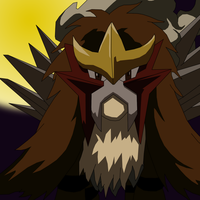 Entei at Night by athosiana