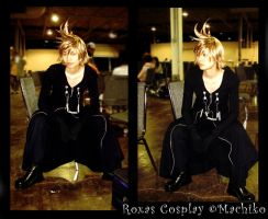 Roxas Cosplay by momoiro-machiko