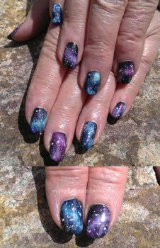 20150425 - Galaxies by m-everhamnails