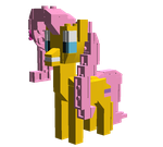 Lego Fluttershy by WhovianBron3