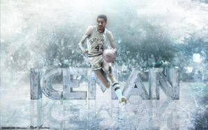 George Gervin by Sanoinoi
