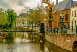 Canal view Amersfoort 111432 by meriwani