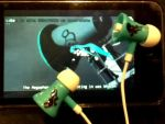 'Love is War' Earbuds by GlDeMo
