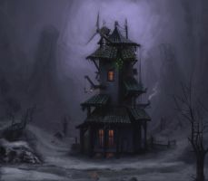 Odd House by StoryKillinger