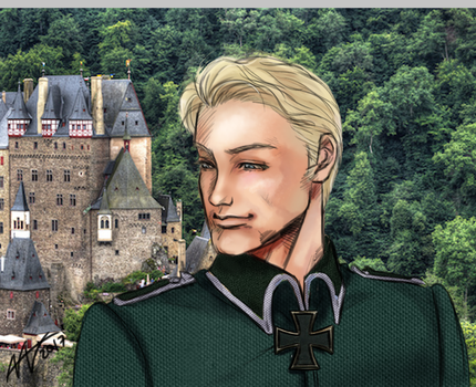 Hetalia - Germany by clovercarmen5